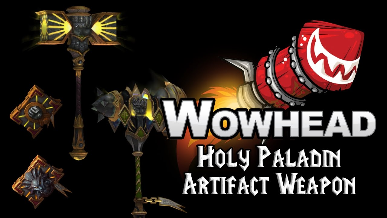 Holy Paladin Artifact Weapons - The Silver Hand - YouTube