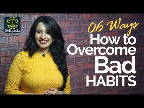 Thumbnail: 06 Effective ways to overcome Bad Habits – Motivational Tips & Personality Development Video