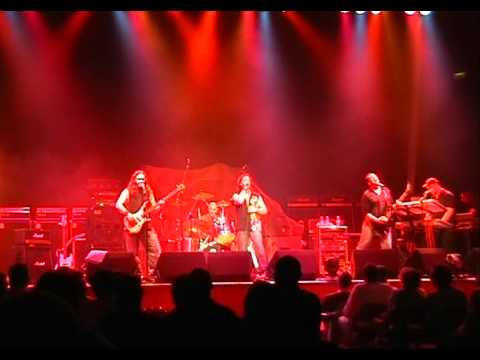 British melodic rock band Double Cross at Bristol Colston Hall playing 'Time after Time' in 2005