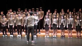 2015도원예술제- 겨울왕국OST 메들리 합창 (도원중 3학년 9반)