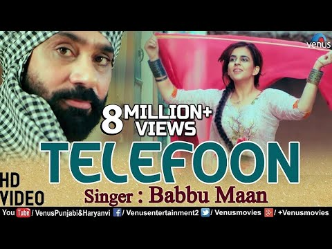 Babbu Maan  - Telefoon |  Latest Punjabi Songs 2018 | New Punjabi Song 2018