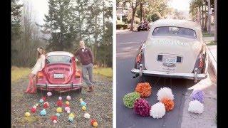 Самые красивые свадебные украшения для машин wedding decorations