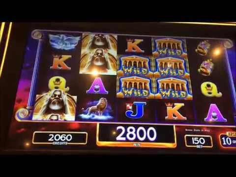 KRONOS: FATHER OF ZEUS ~~ LIve Slot Play @ San Manuel Casino