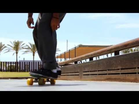 This Guy is Nuts on a Penny Board