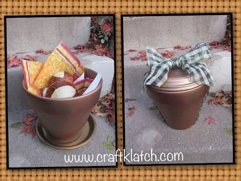 thanksgiving craft gift ideas fall hostess gift for thanksgiving craft tutorial 5553