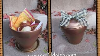 Fall Hostess Gift Perfect For Thanksgiving Craft Tutorial