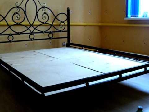 Хорошая конструкция кованой кровати из металла