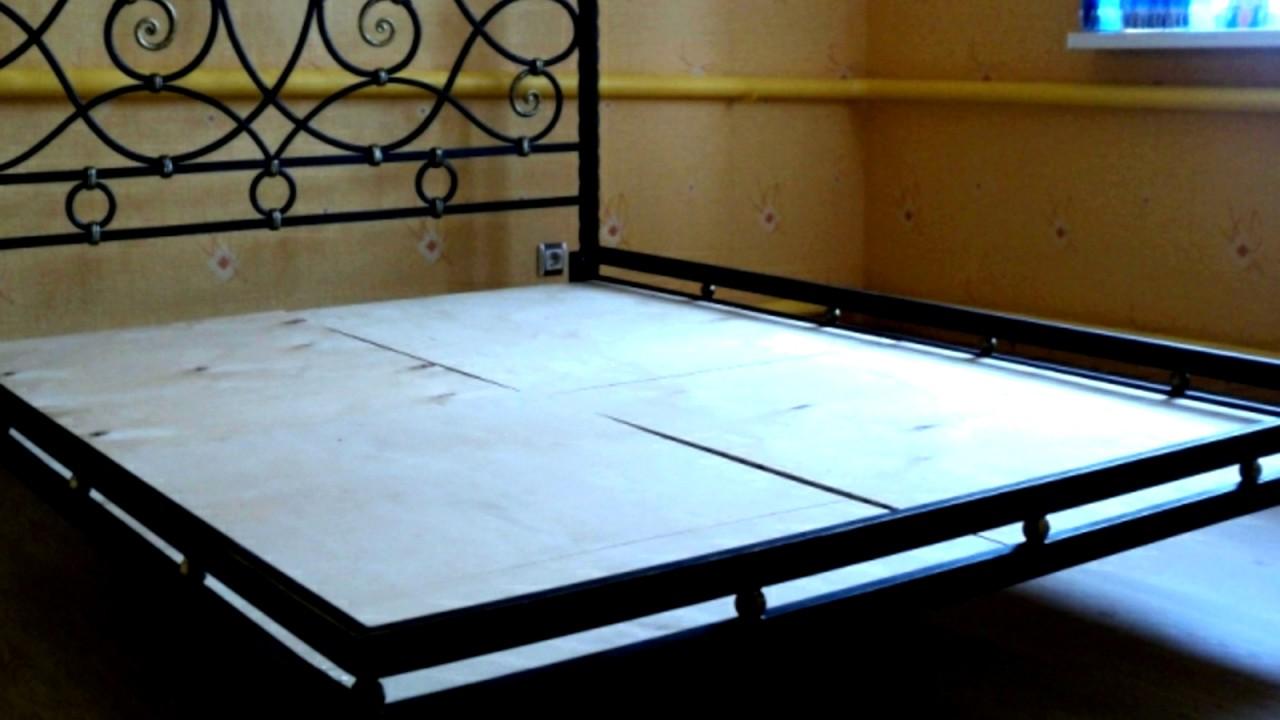 хорошая конструкция кованой кровати из металла Youtube
