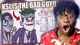 KSI & DEJI ARE THE BAD GUYS!   KSI Has Already Lost To LOGAN PAUL Reaction!