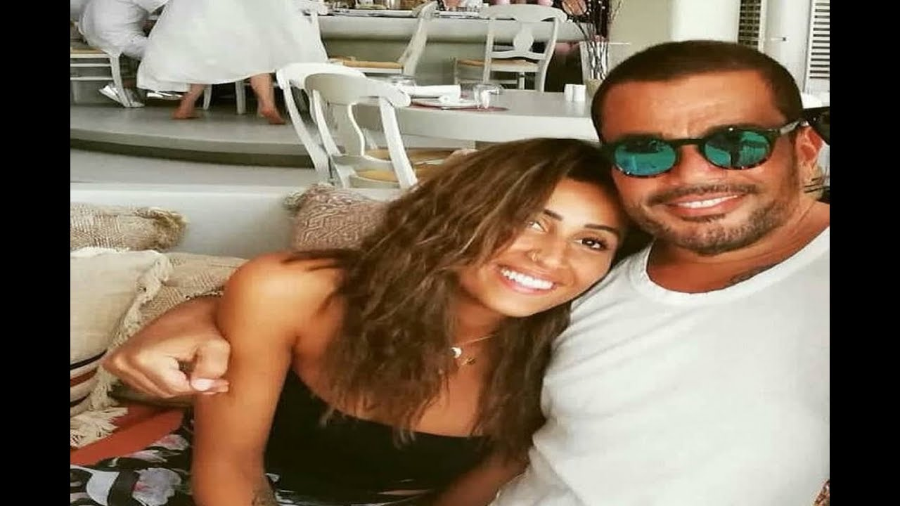 عمرو دياب يحتفل بعيد ميلاده مع دينا الشربيني وإحتراق وجه لقاء سويدان