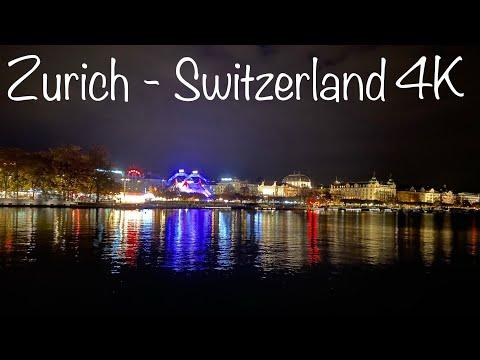 4K Video of Zurich