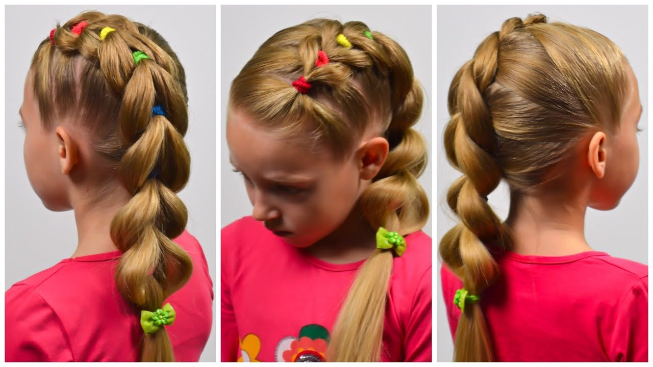 French Braid Wedding Hairstyles For Kids | I Can't Believe ...