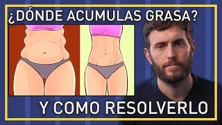 Dime donde acumulas grasa y te diré que hormona lo causa (perder grasa de muslos, abdomen o espalda)