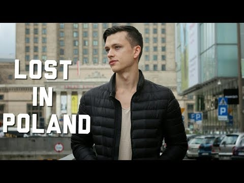 Travel to WARSAW, POLAND / I got lost at night with NO MONEY and NO PHONE