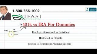 401k vs IRA - 401k vs IRA for Dummies
