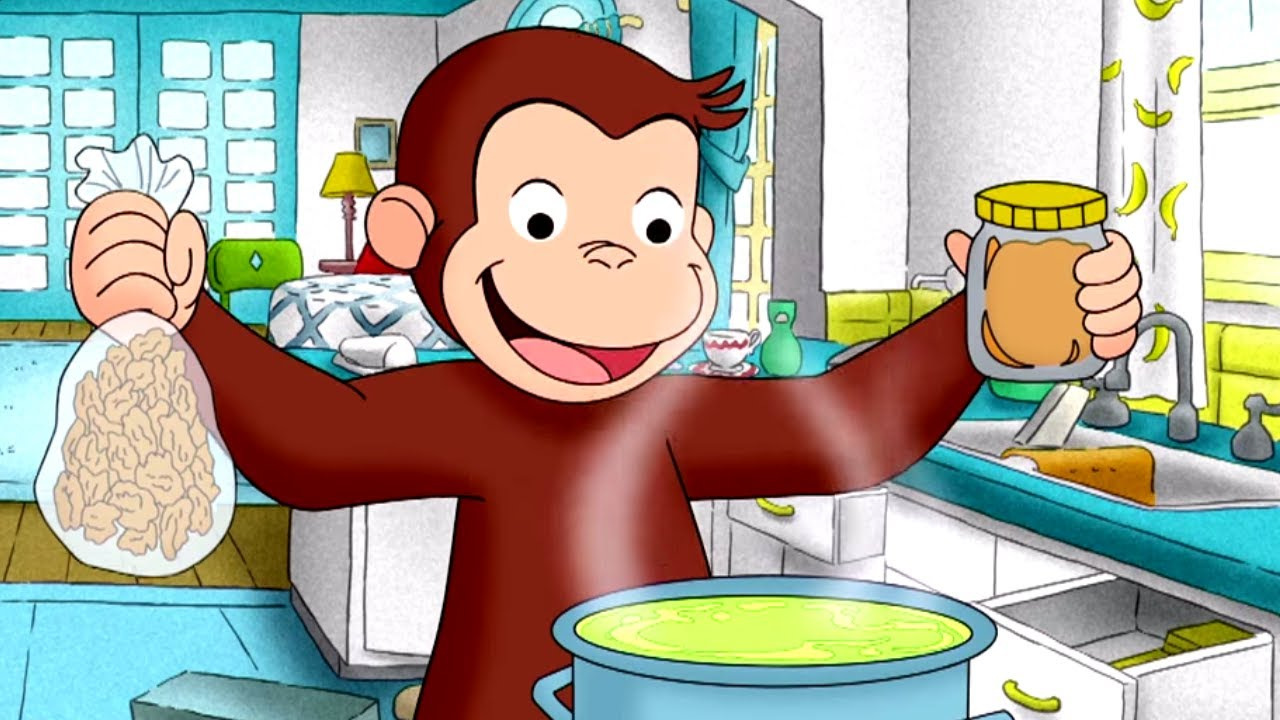 Curious George 🐵Toot Toot Tootsie Goodby 🐵 Kids Cartoon 🐵 Kids Movies 🐵Videos for Kids #1
