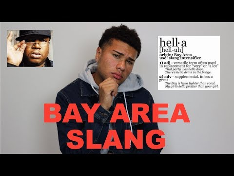 Bay Area Slang
