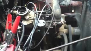 Willys carb start up