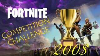 200$ & 3500 V-Bucks FORTNITE NETWORK TRN CHALLENGE 50 Wins / 200 KILLS