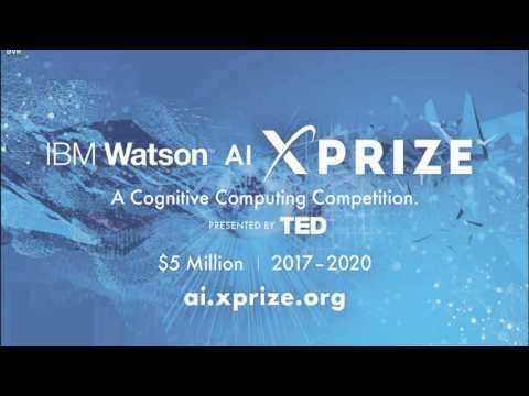 IBM Watson AI XPRIZE @ TED 2016 Announcement