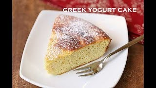 Greek Yogurt Cake (Low Carb)
