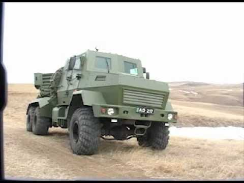 New Georgian MRLS 122mm Multiple Rocket Launcher System Georgia defence industry military technology