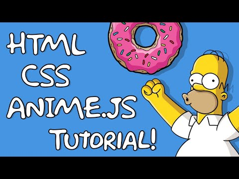 How To Design & Code A Simpsons CSS Card With HTML & Anime.js