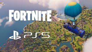 Confira a Jogabilidade do Fortnite no PS5 com o UE4 em Primeira Mão