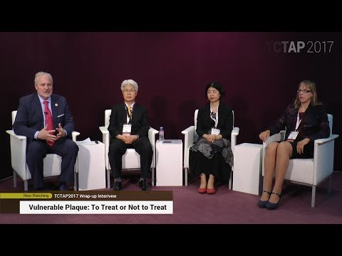 """TCTAP 2017 Wrap-up Interview """"Vulnerable Plaque: To Treat or Not to Treat"""""""