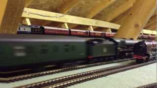 Hinchley Wood Model Railway Video 21