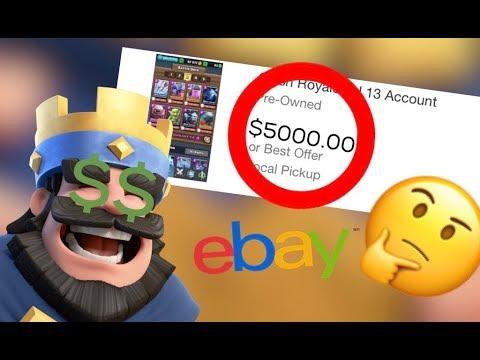 BUYING $5000 Clash Royale ACCOUNT!