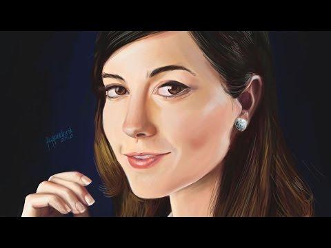 Mary Elizabeth Winstead Speed Painting