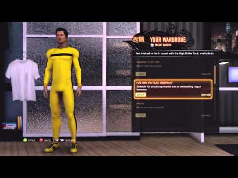 Sleeping Dogs Outfit Locations: Mr. Black, Part Time Assassin and Martial Arts Legends