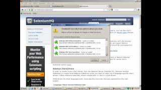 Selenium tutorial - Install Selenium IDE - Free Selenium Videos and tutorial