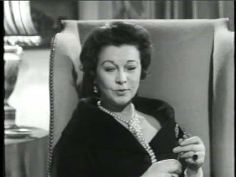 Vivien Leigh Interview-Part Three Small World
