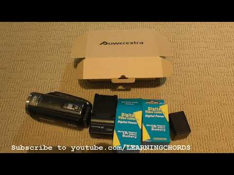 PANASONIC CAMCORDER SPARE Extra Battery Replacement REVIEW