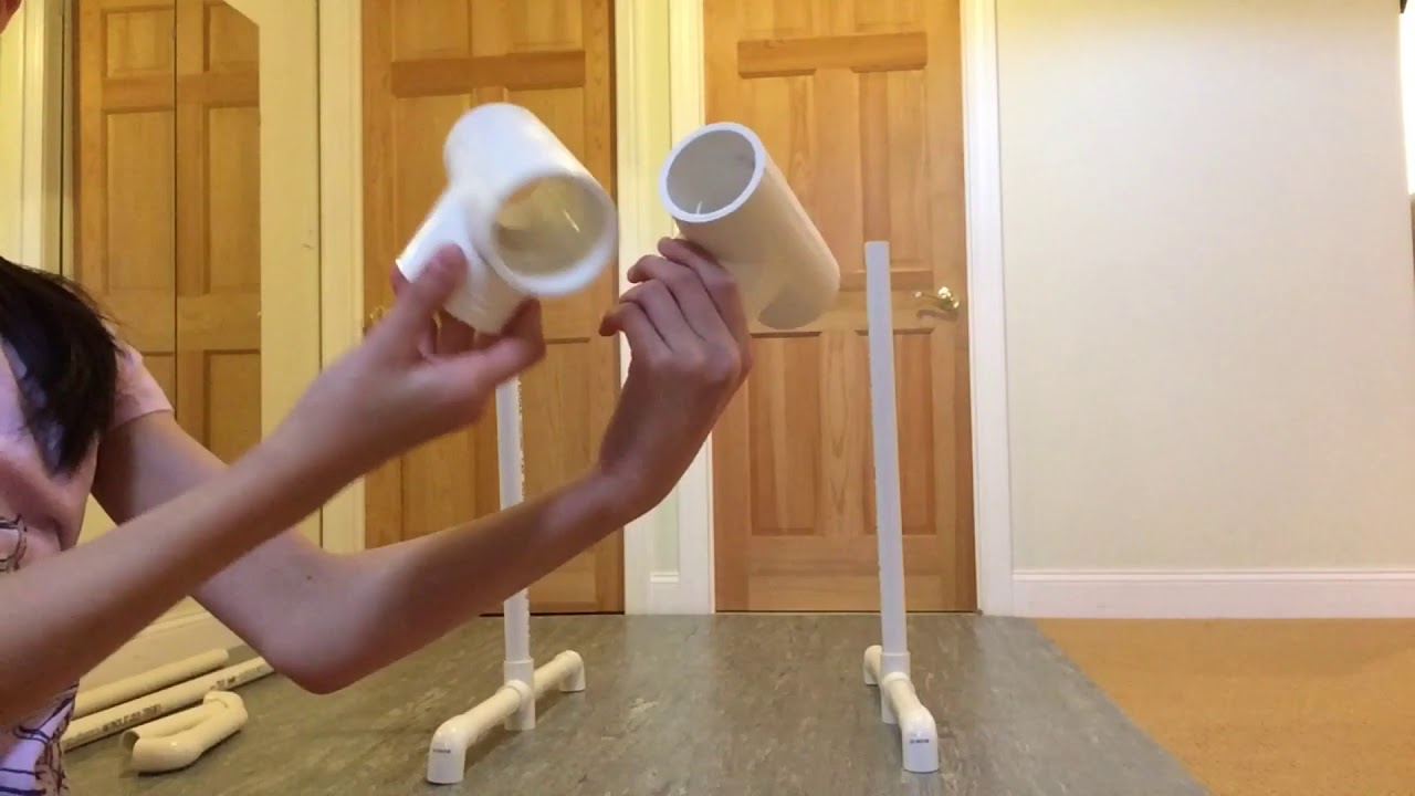 DIY Ballet Barre - YouTube