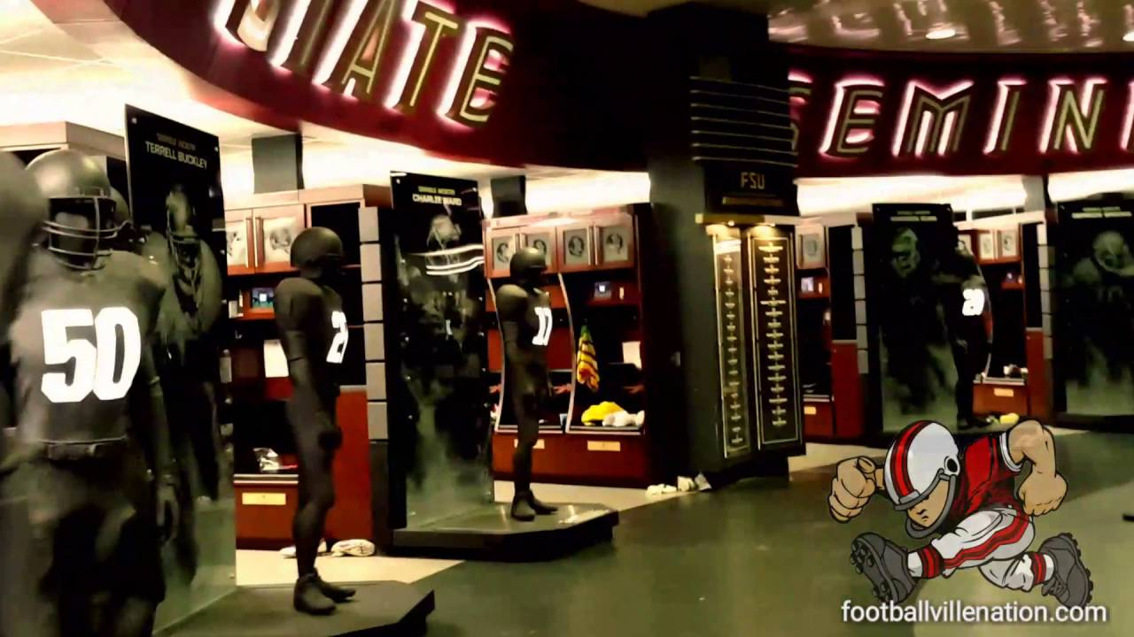 All Access Florida State Awesome Football Locker Room