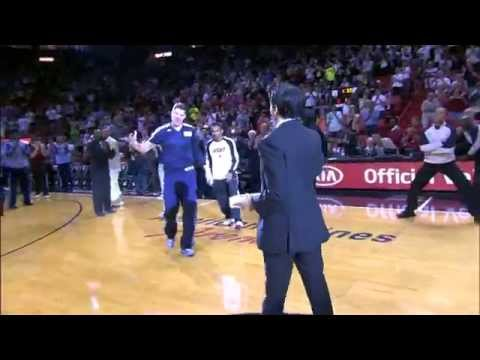 Mike Miller Receives his Championship Ring from the Miami Heat!