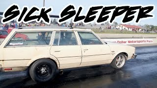 ONE BAD SLEEPER CAR!! TURBO OLDSMOBILE WAGON WITH A ATTITUDE!