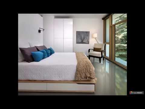 Подиум с Выкатной двуспальной кроватью