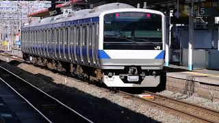 E531系K462編成「8124M」KY出場 郡山駅入線・出発 20180307