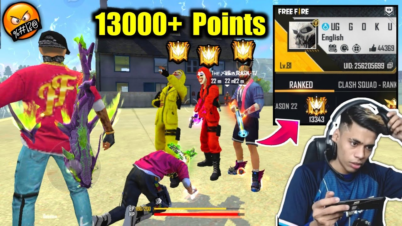 They Laugh on me🙏😏And Rest is History😠13000 Points Grandmaster - Garena Free Fire !!