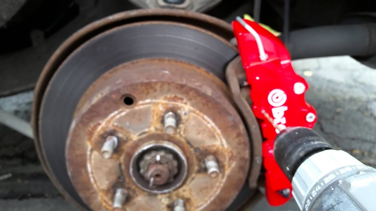 The BEST way to install Brembo caliper covers  YouTube