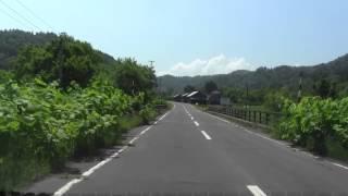 北海道道741号上遠別霧立線 築別ゲート~上羽幌区間