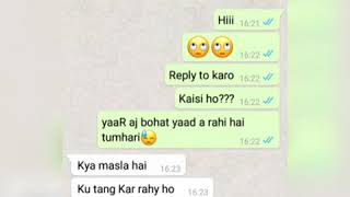 Real one Sided Sad Love Story Chatting Video || Heart Broken 💔WhatsApp chat Love story video