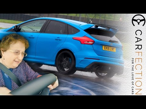 Watch The Ford Focus RS Drift Mode Turn a Timid Driver Into a Drift Pro