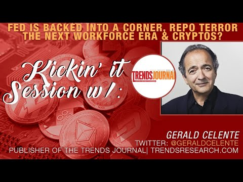Gerald Celente Talks Voting on Blockchain | Coming Recession in 2021 | Fed Repo Disaster & More!