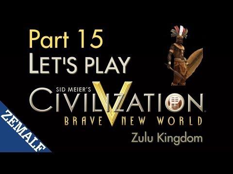 Let's Play Civ 5 BNW - Part 15 - Zulu, T200-210 [Immortal]
