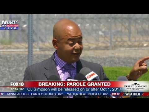 WATCH: OJ Simpson's Lawyer Speaks After Parole Hearing (FNN)